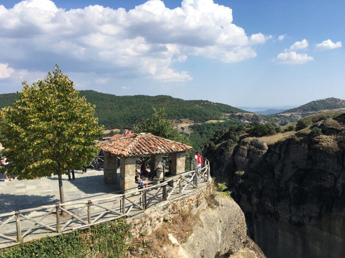 Смотровые Главного монастырь Метеор, Греция