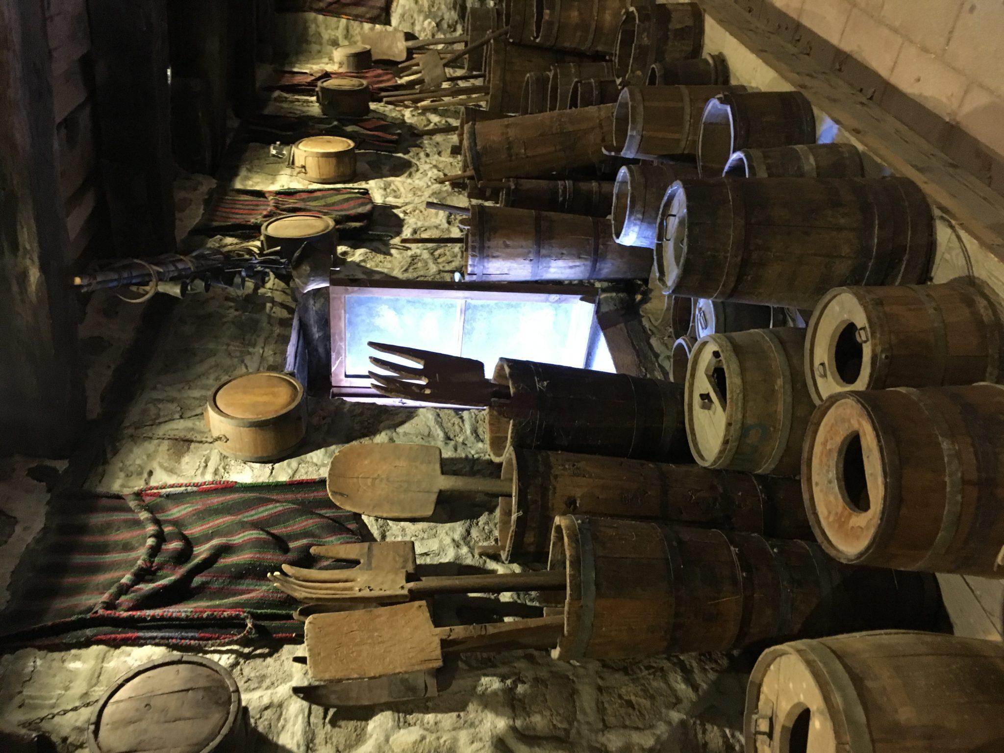Экспонаты музея главного монастыря Метеор, Греция