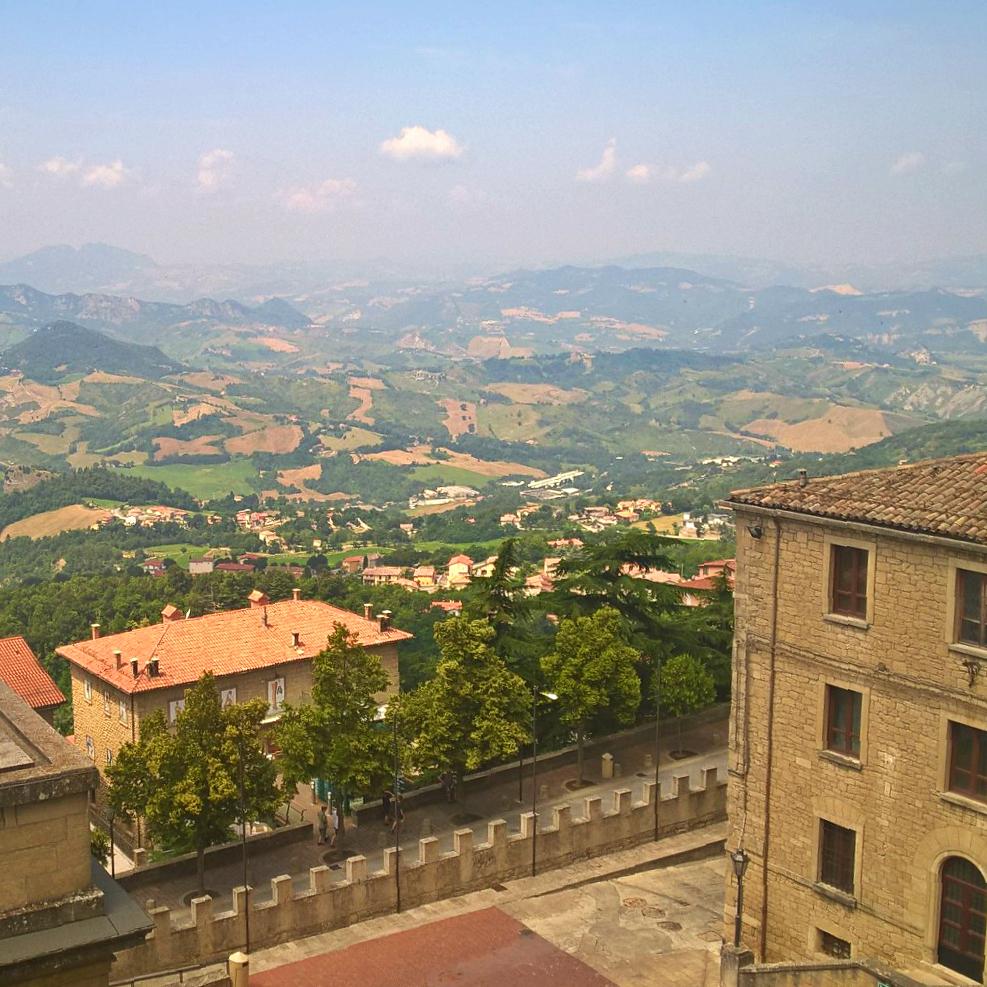 Сан-Марино панорама