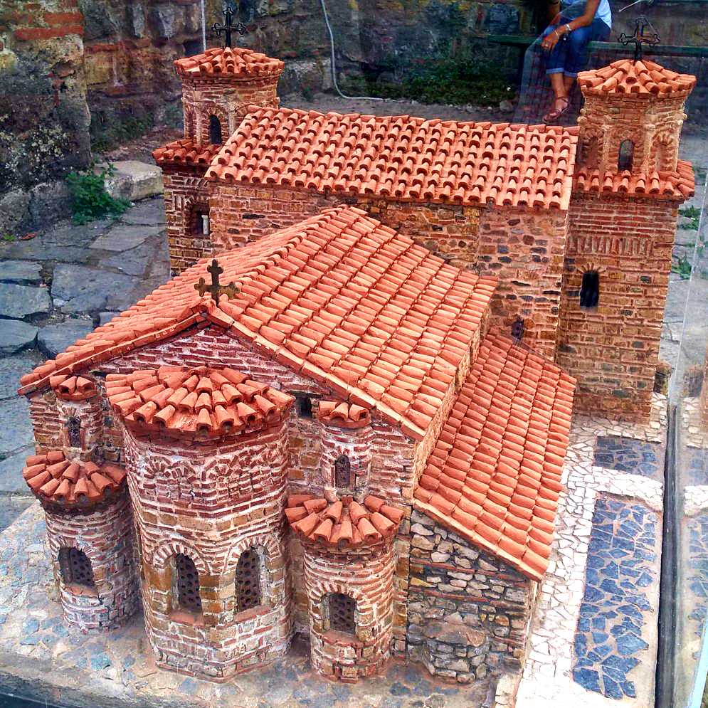 Македония Церковь Святой Софии