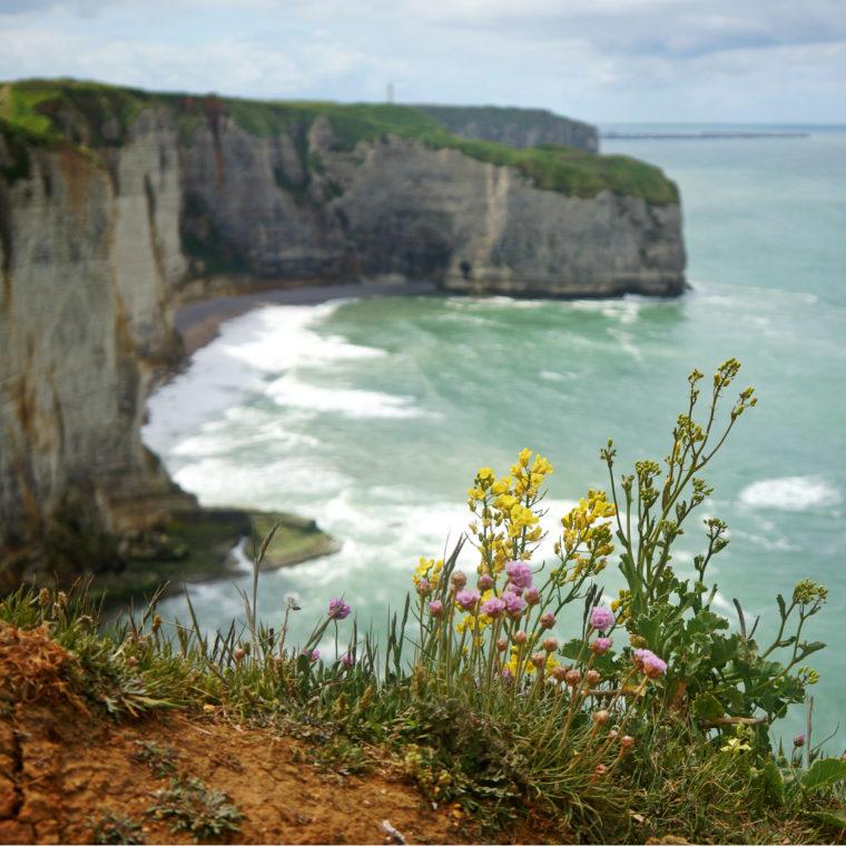Скалы Этреты или Алебастровое побережье Франции