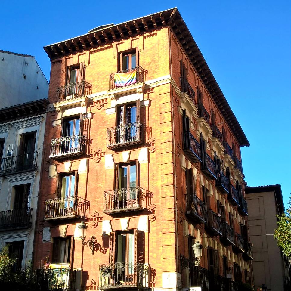 Мадрид дома