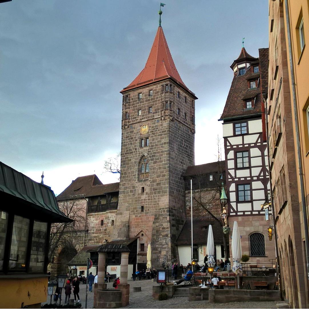 Нюрнберг башни