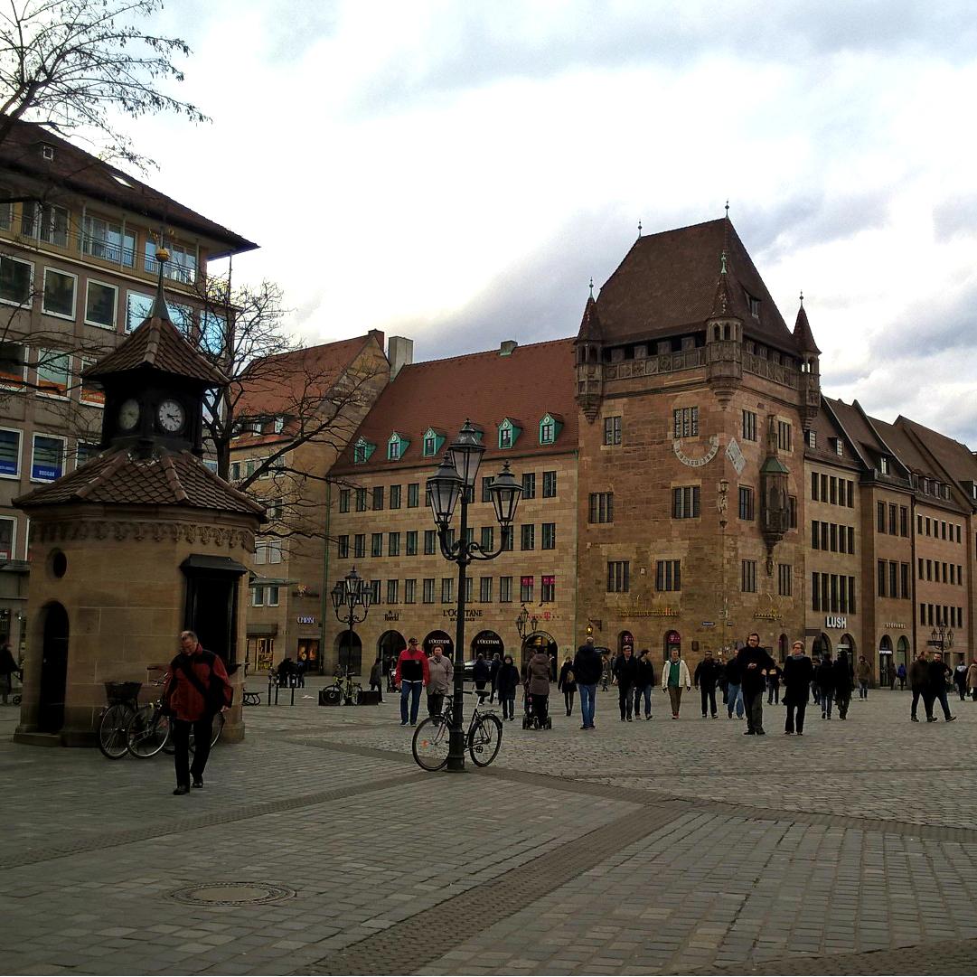 Нюрнберг крыши