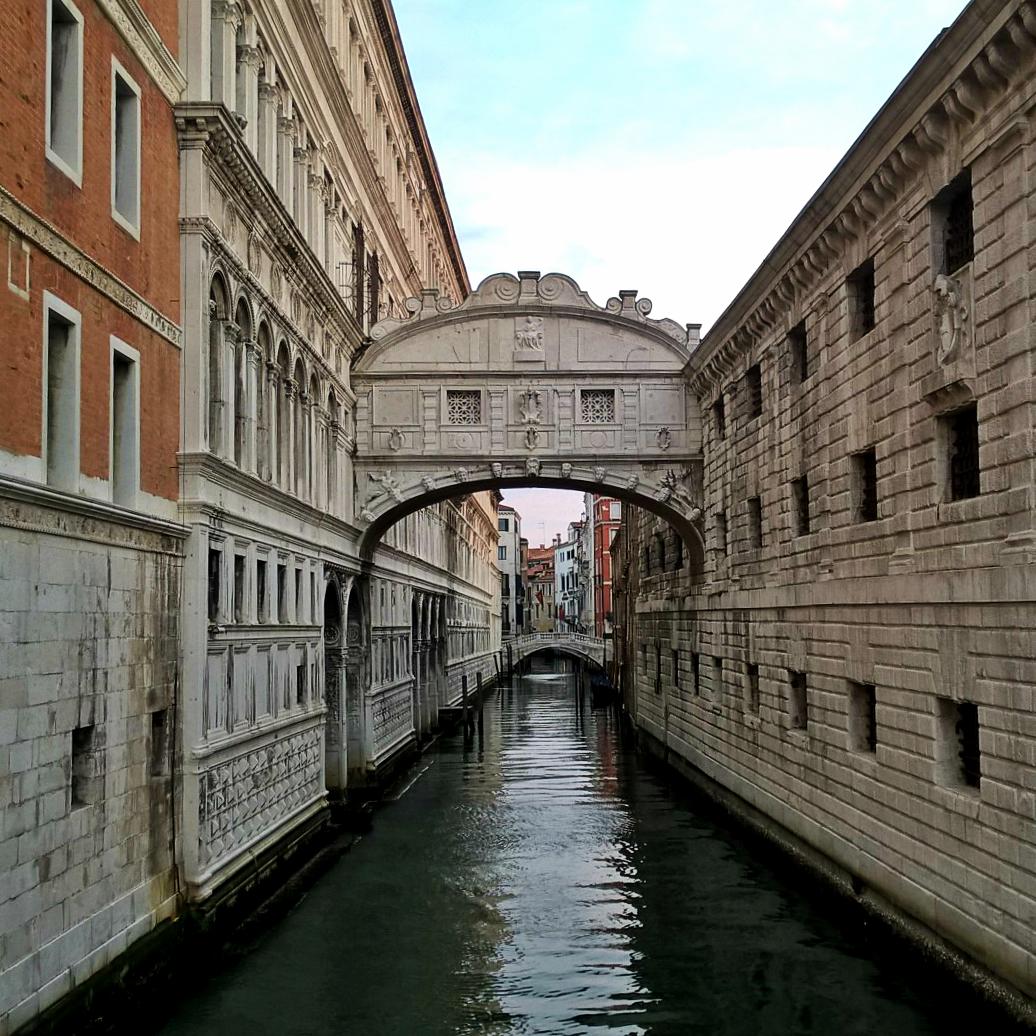 Мост вздовох утром