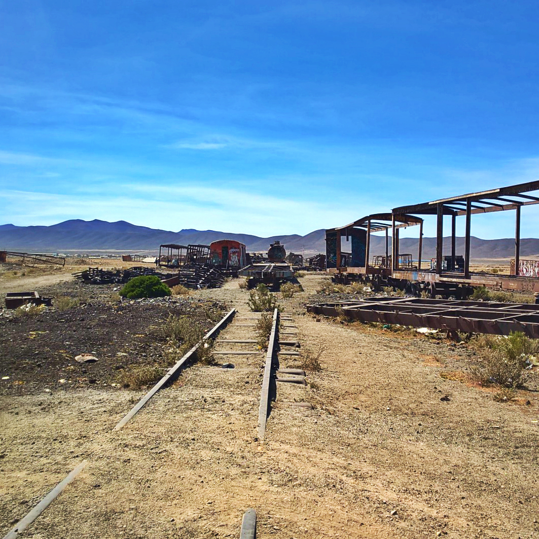 Уюни - кладбище локомотивов