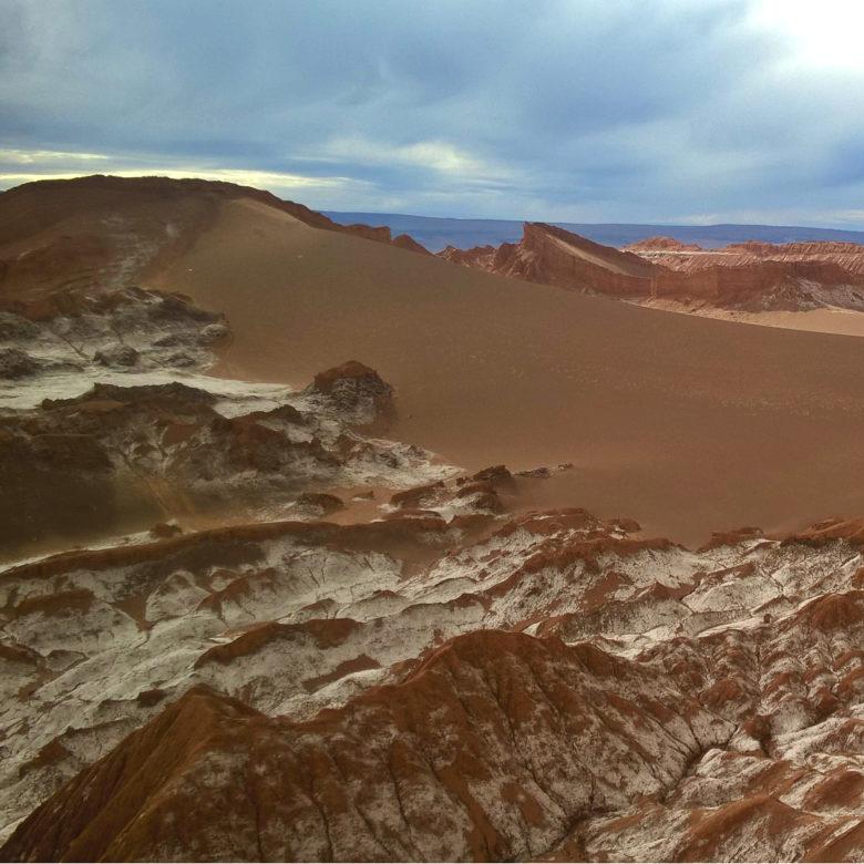 Лунная долина или самое инопланетное место Чили