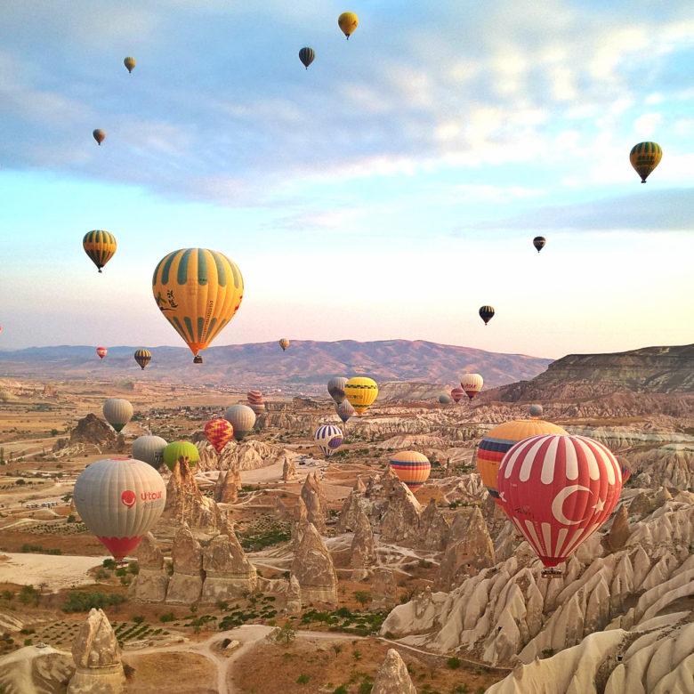 Полёт на воздушном шаре или главное развлечение Каппадокии
