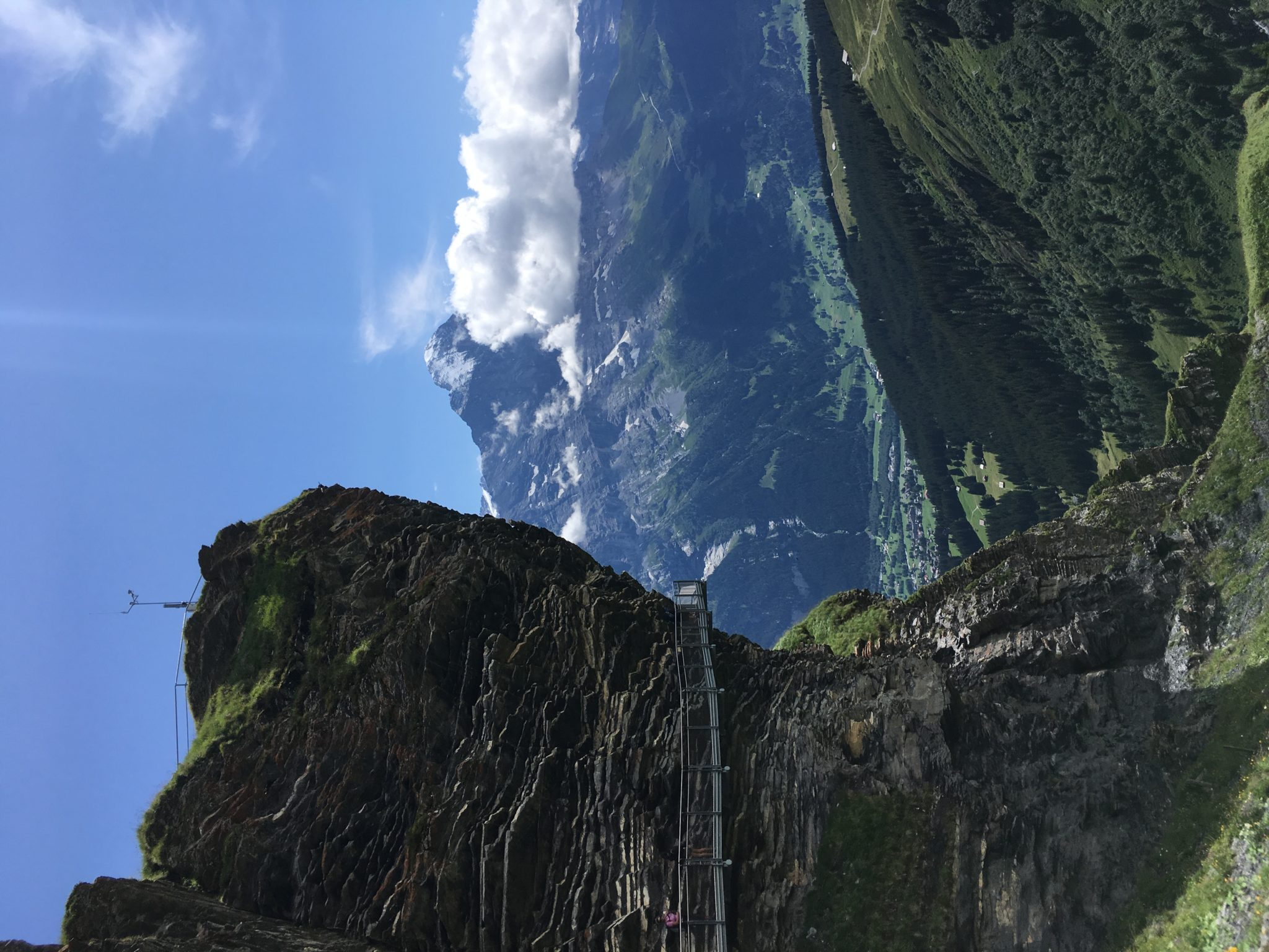 Cliff Walk в Гриндельвальде, Швейцария