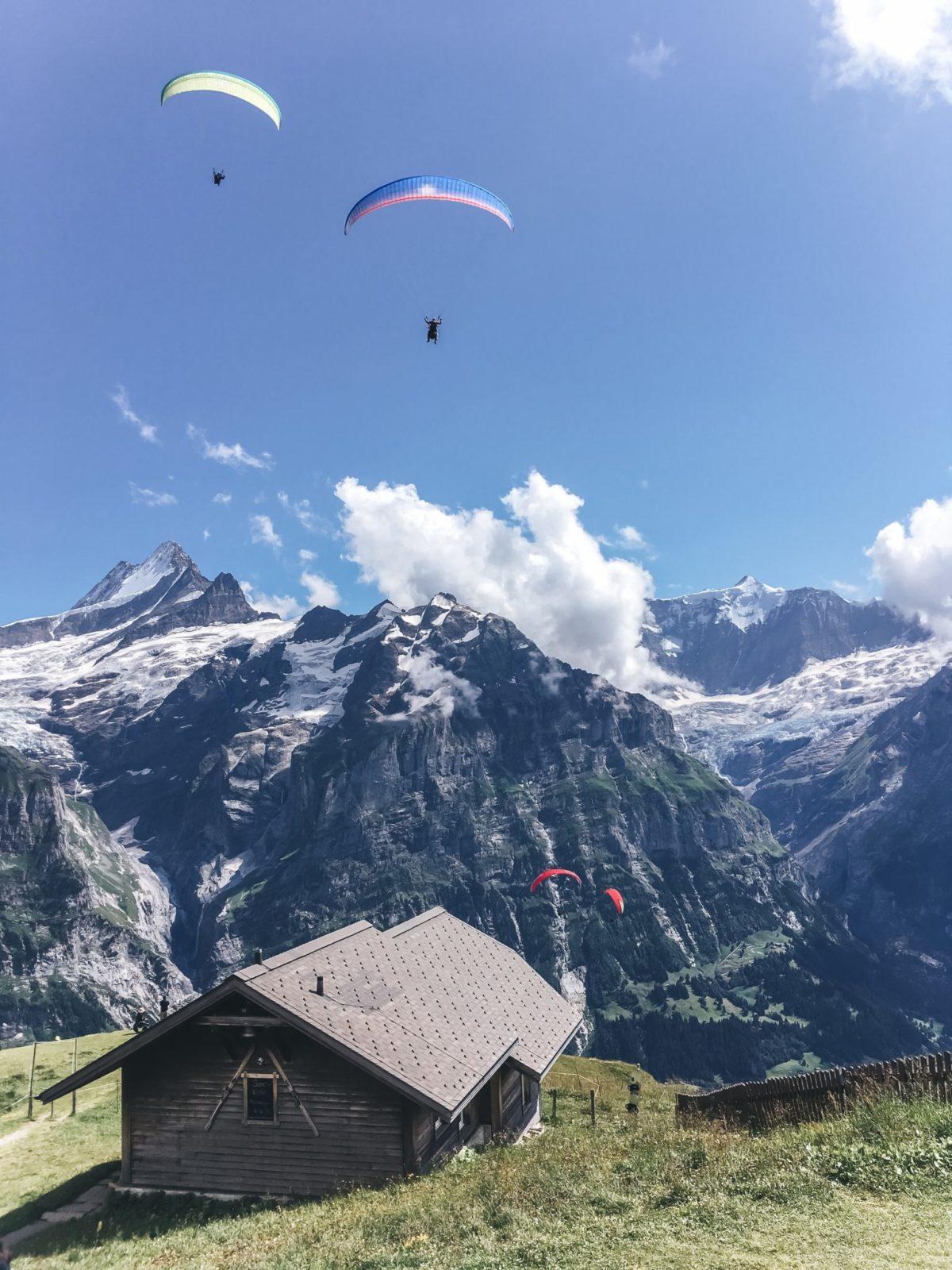 Активности в Гриндельвальде, Швейцария