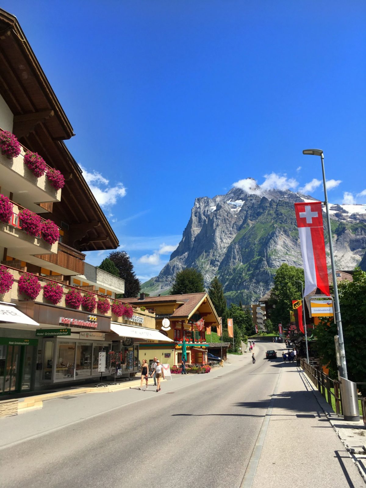Улочки Гриндельвальда, Швейцария