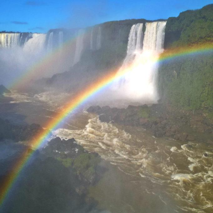 Водопад Игуасу – бразильская сторона