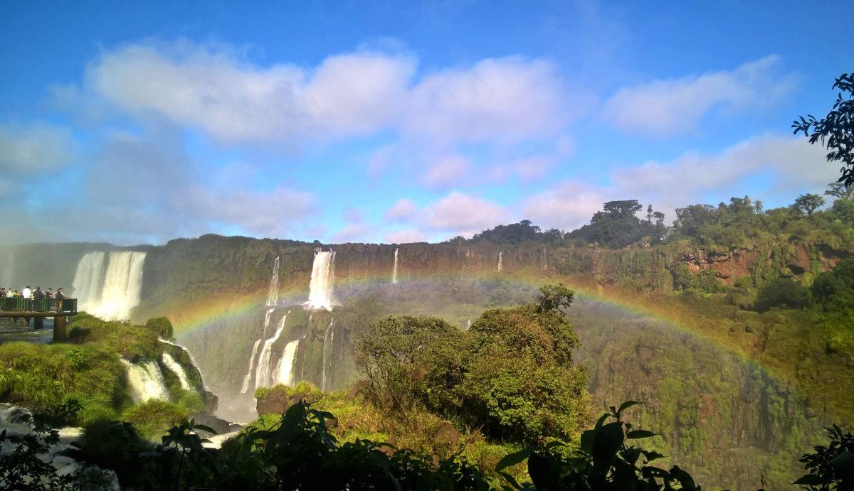 Водопад Игуасу - Бразилия