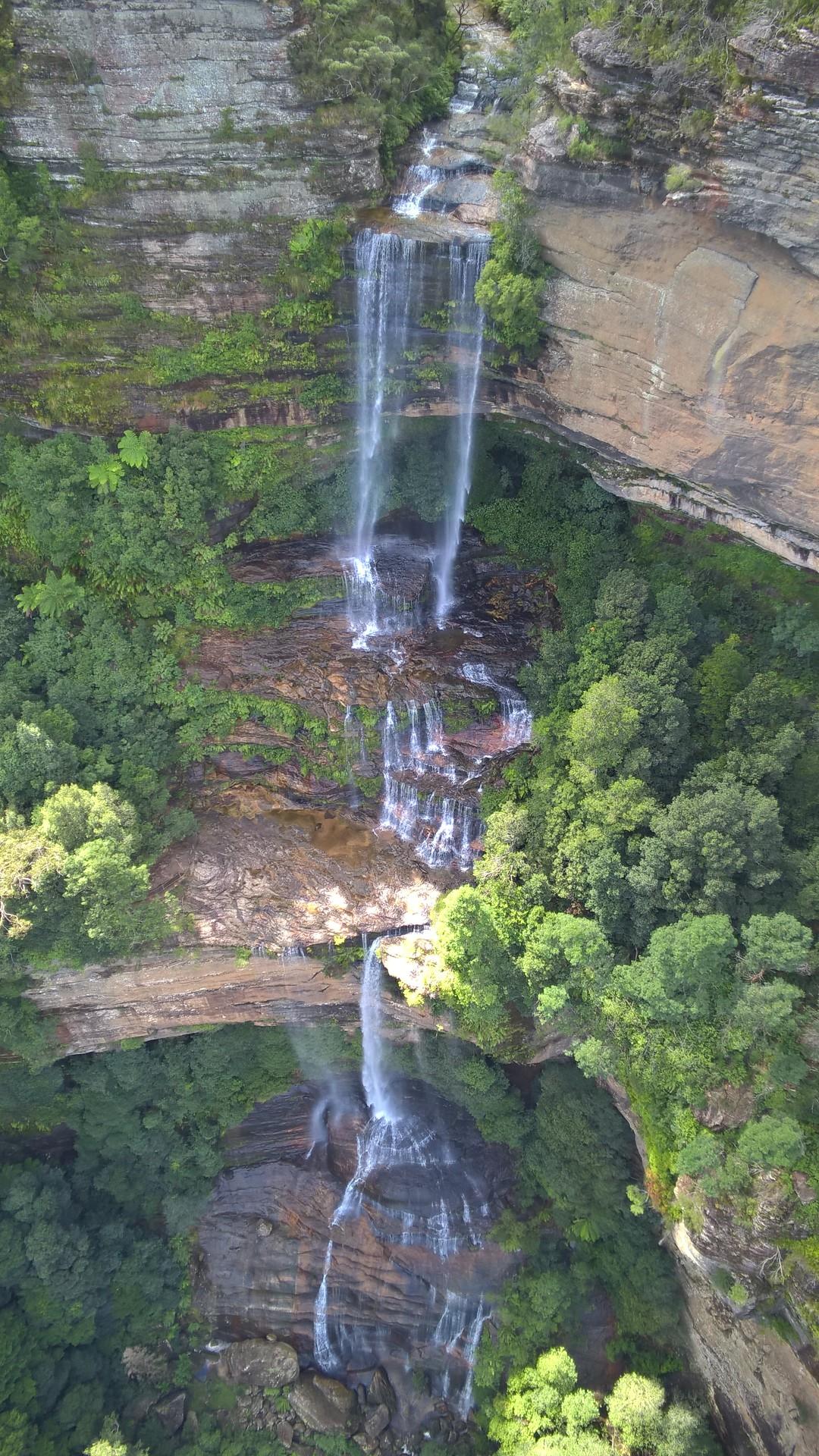 Водопад Катумба в парке Блю Маунтинс, Голубые горы, Австралия