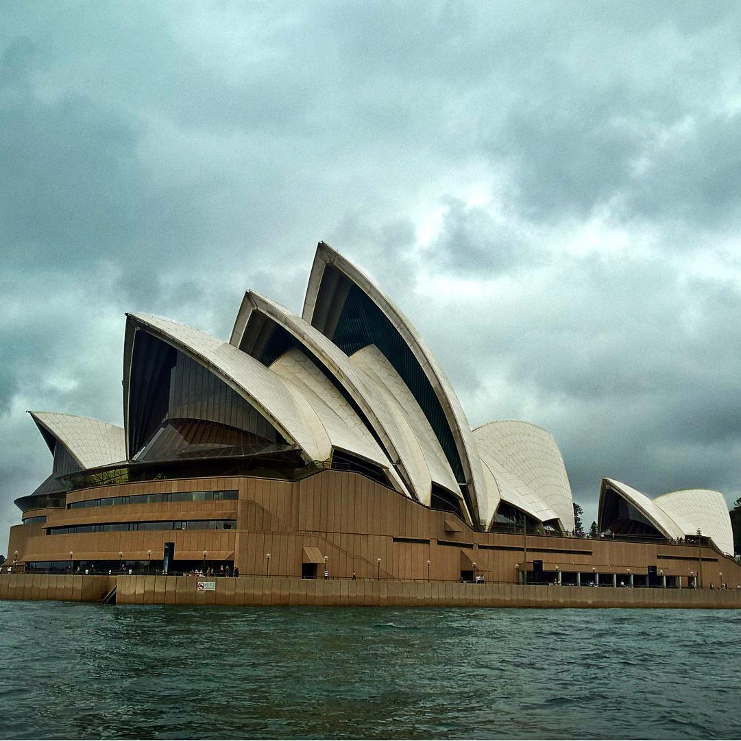 Начало знакомства с Австралией - Сидней Опера