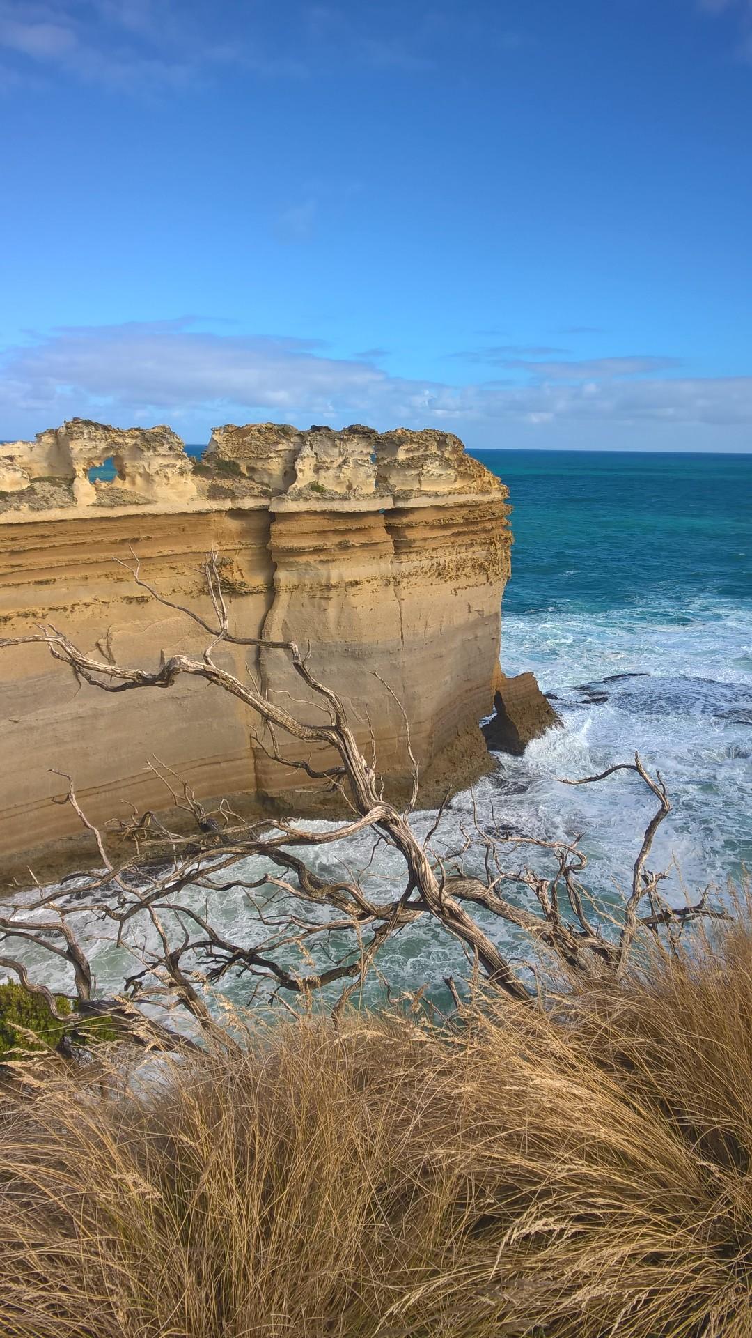 Скала Бритва на Грейт Оушен роуд, Австралия