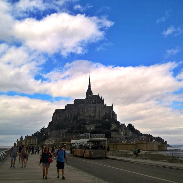 Мон-Сен-Мишель или как добраться общественным транспортом до мечты