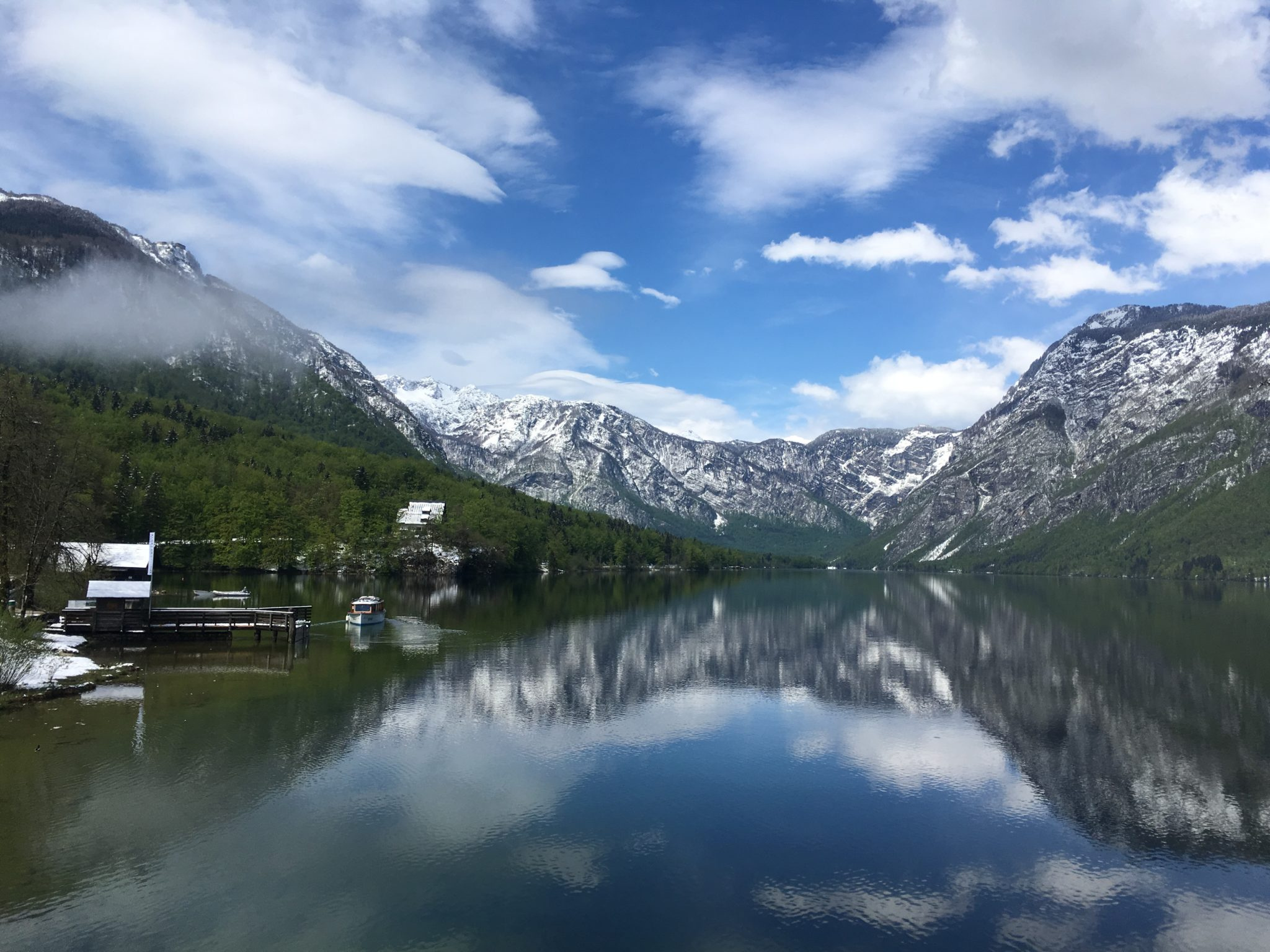 Озеро Бохинь, Словения