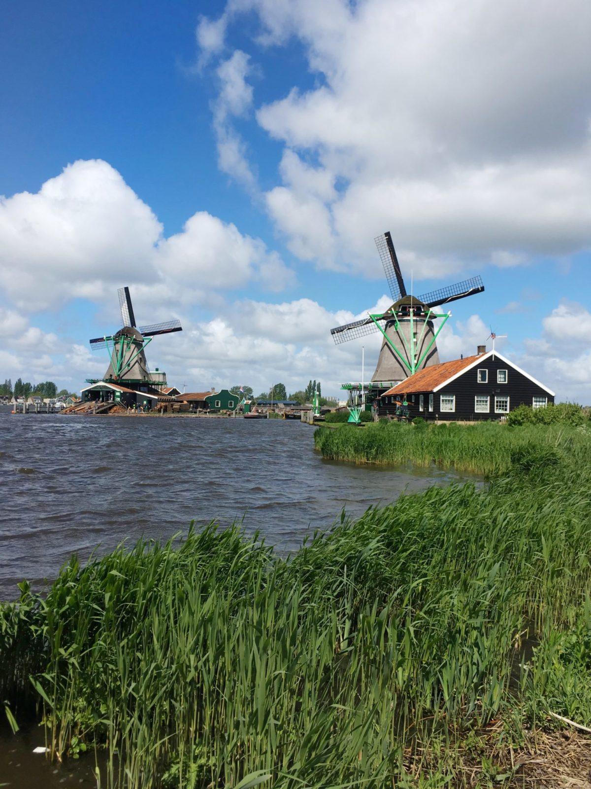 Музей под открытым небом Zaanse Schans, Нидерланды