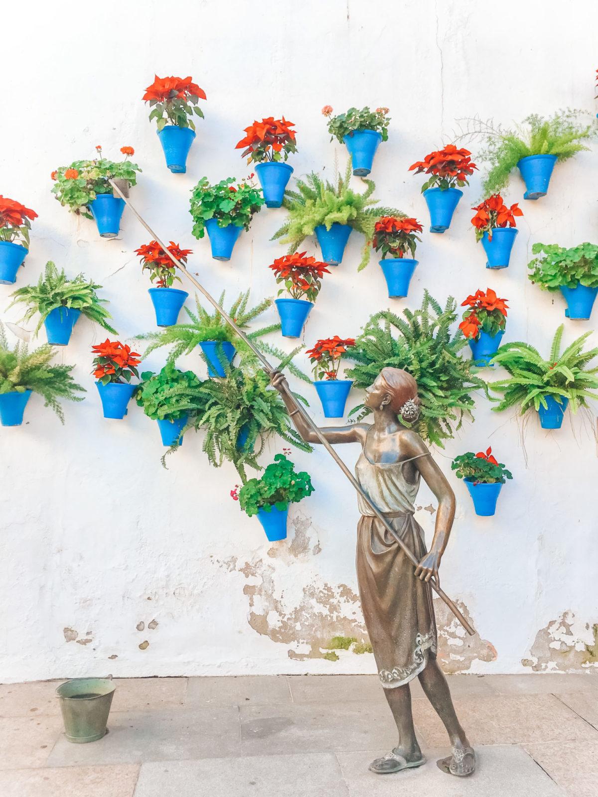 Патио в Кордобе - Что посмотреть в испанской Андалусии?