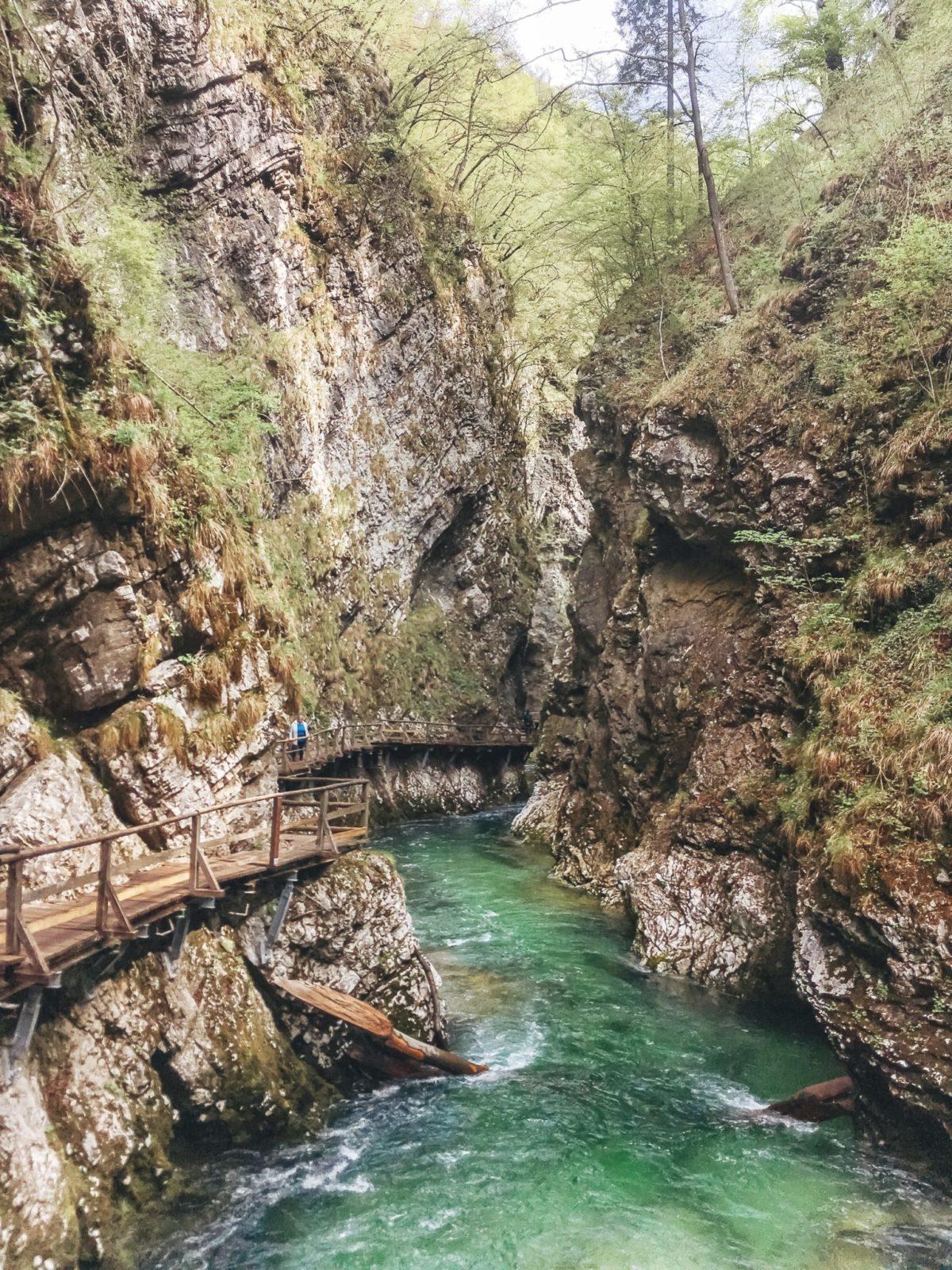 Ущелье Винтгар, район озера Блед, Словения