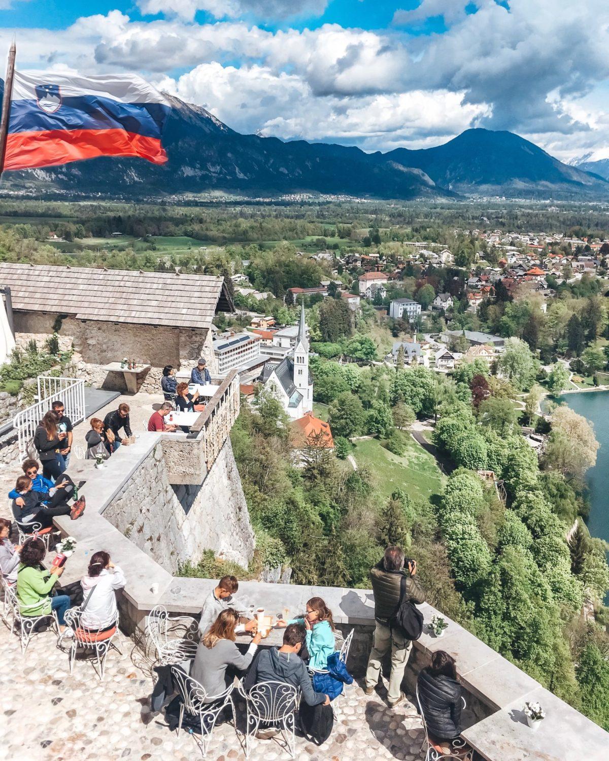 Вид на Блед, Словения