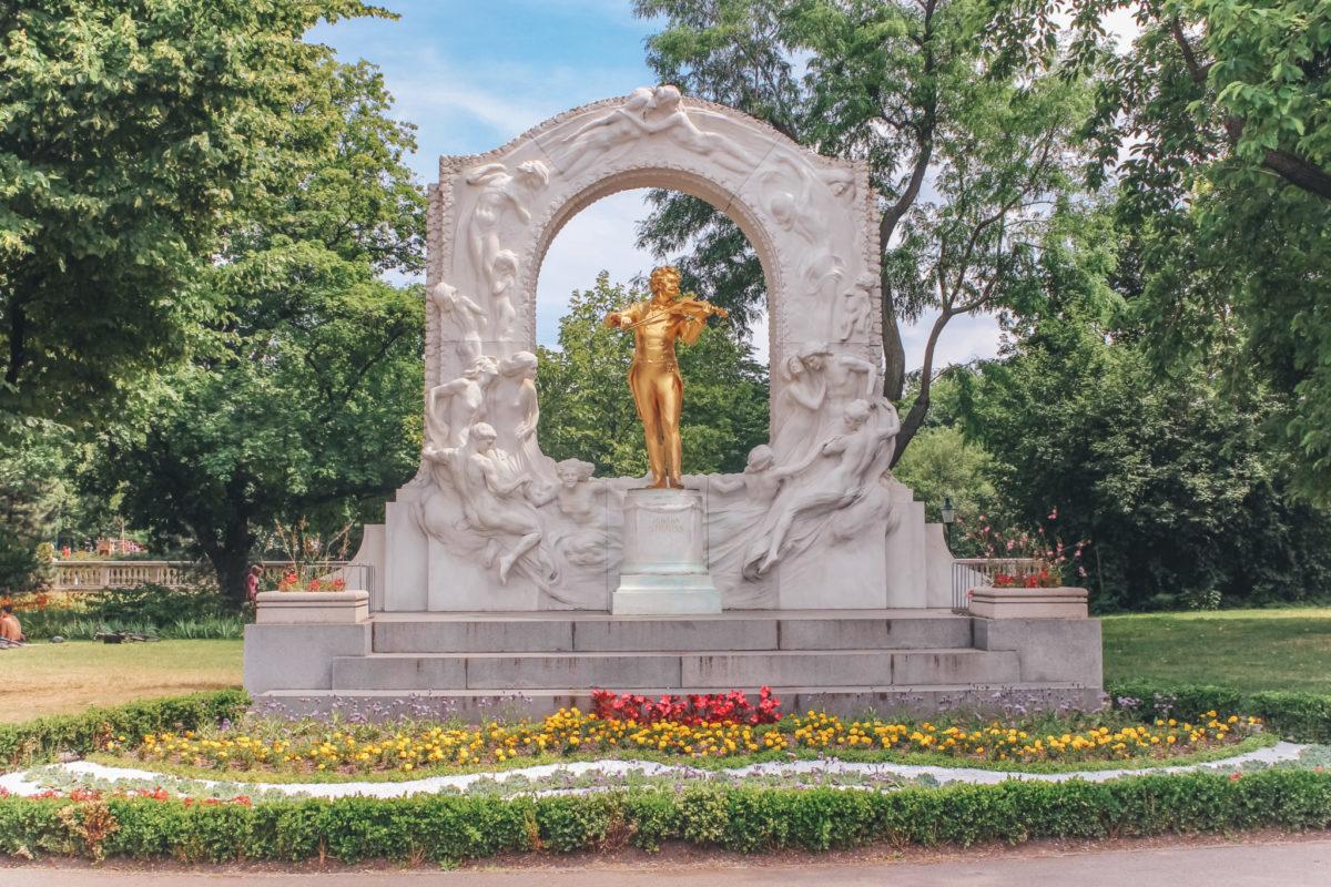 Городской парк Вены, Австрия