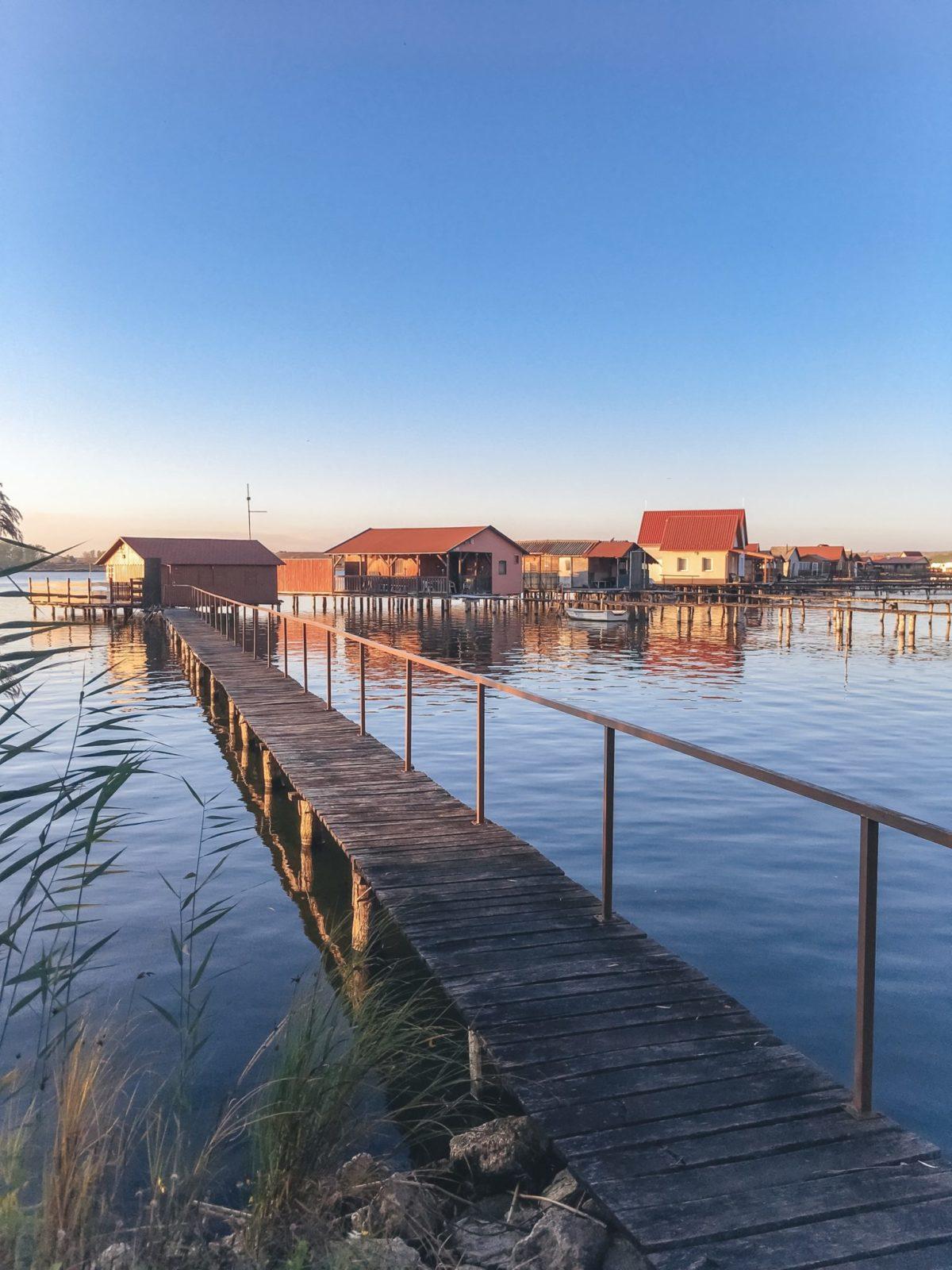 Неизвестное место в Венгрии - озеро Бокод