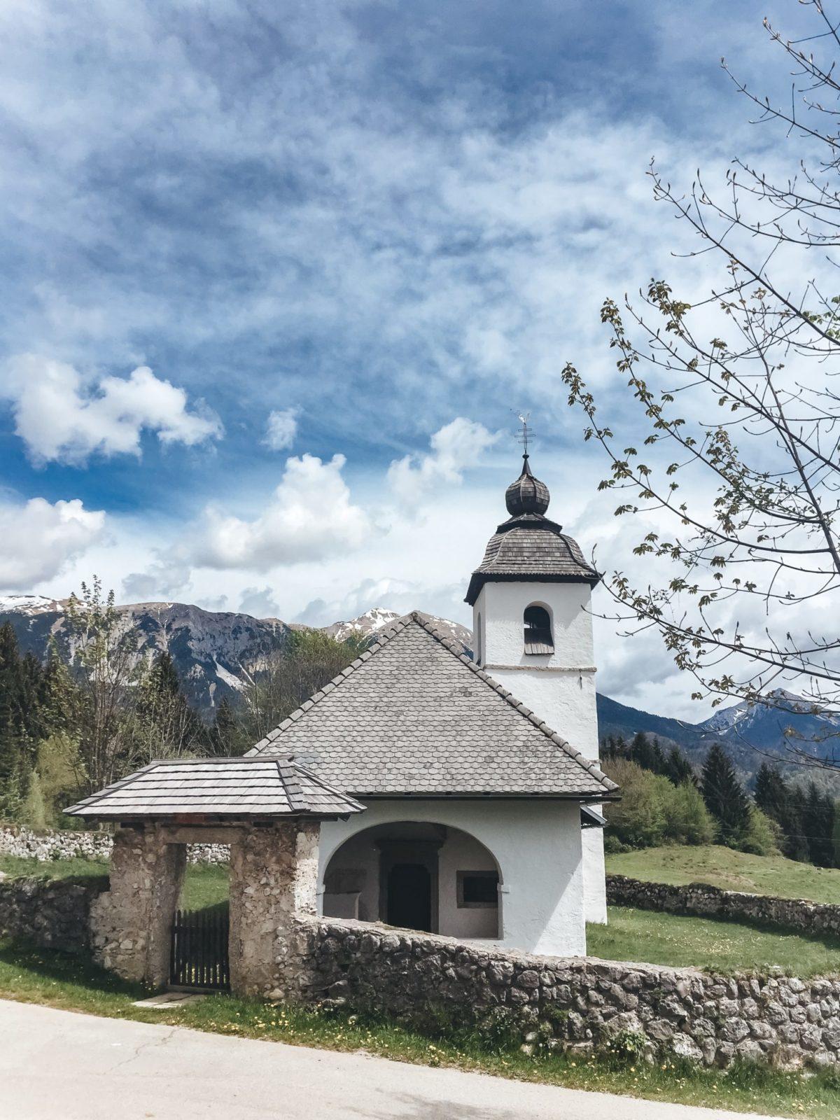 Дорога к ущелью Винтгар, Блед, Словения