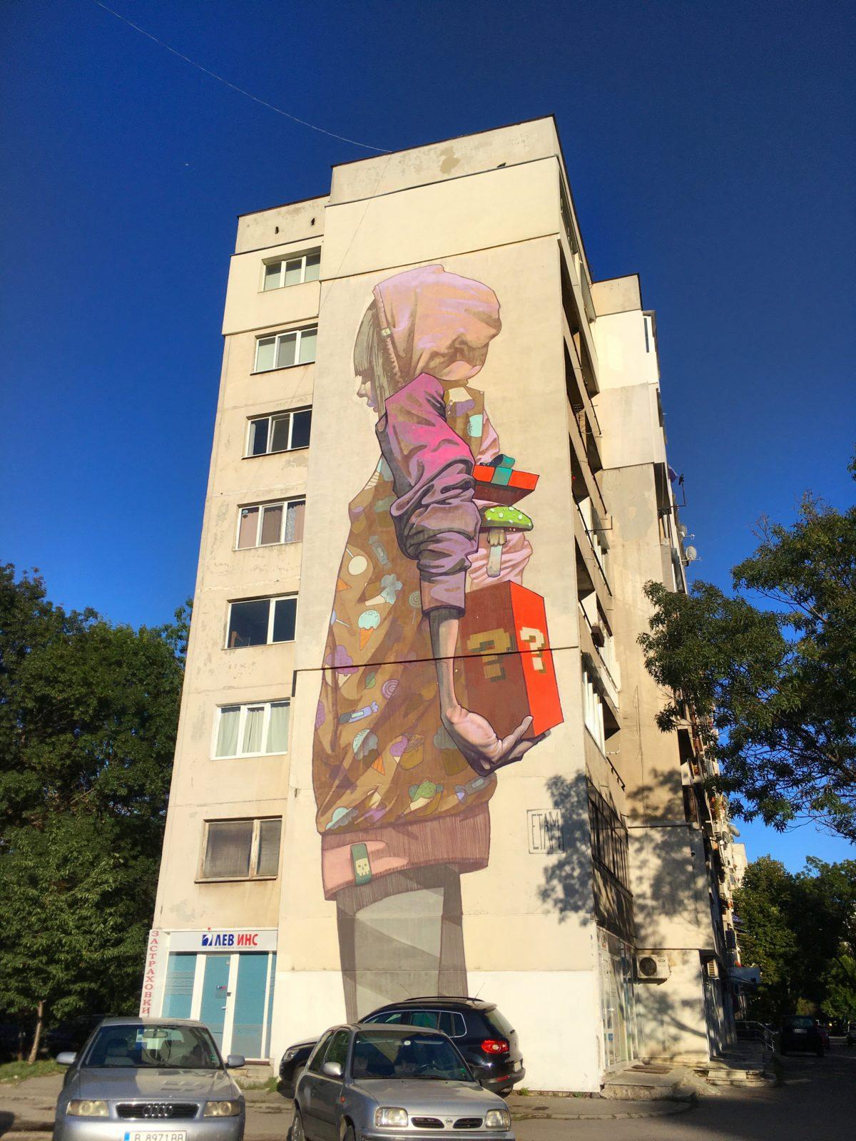 Граффити в Софии, Болгария