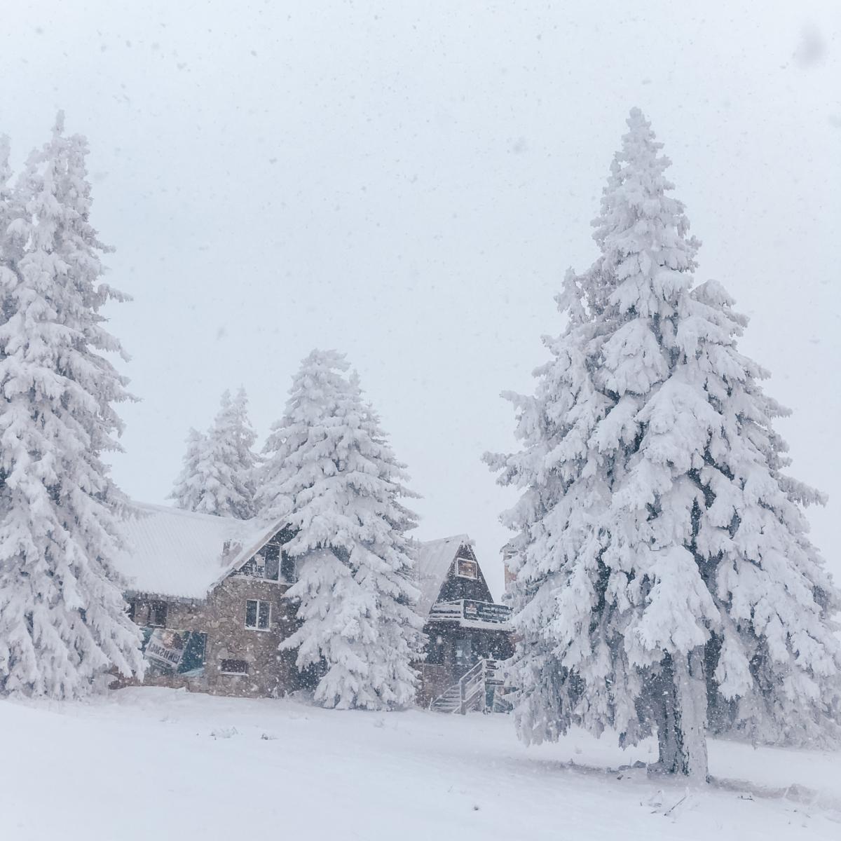 Короткие зимние поездки по России